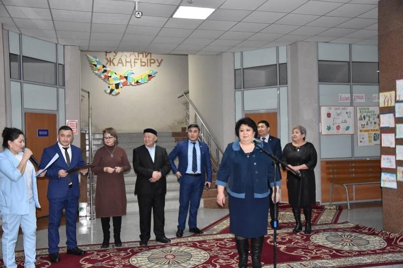 Музей в День Первого Президента РК открылся в одной из школ Акмолинской области
