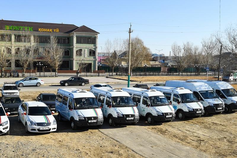 8 автомобилей подарили кызылординским спортшколам олимпийского резерва