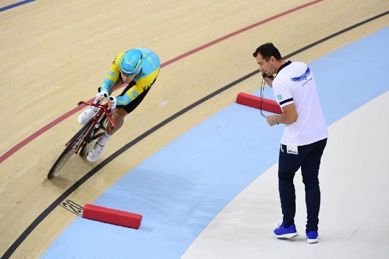 Казахстанец вошел в пятерку сильнейших на Кубке мира по велотреку
