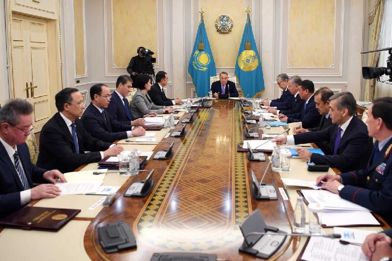 Nazarbayev held Security Council's meeting
