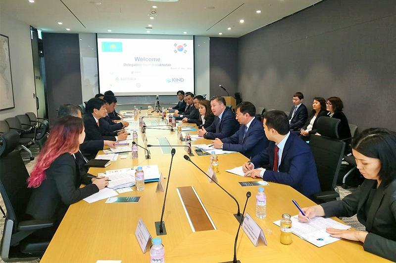 Baiterek Holding delegation visits Seoul