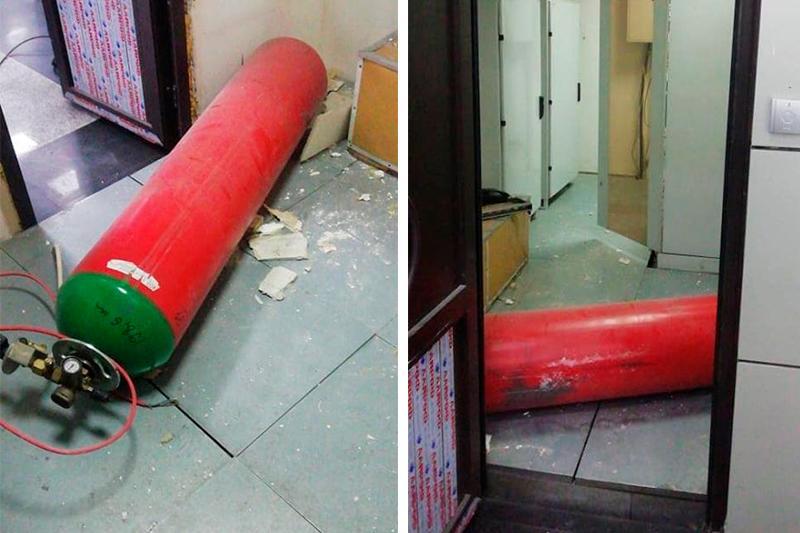 Пассажиров испугал громкий хлопок в аэропорту Алматы