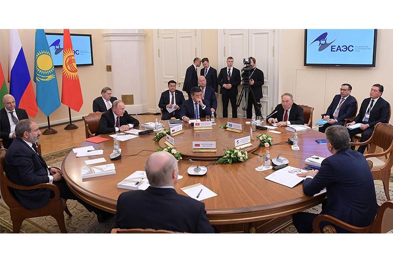 Президент РК предложил провести следующий саммит ЕАЭС в Астане