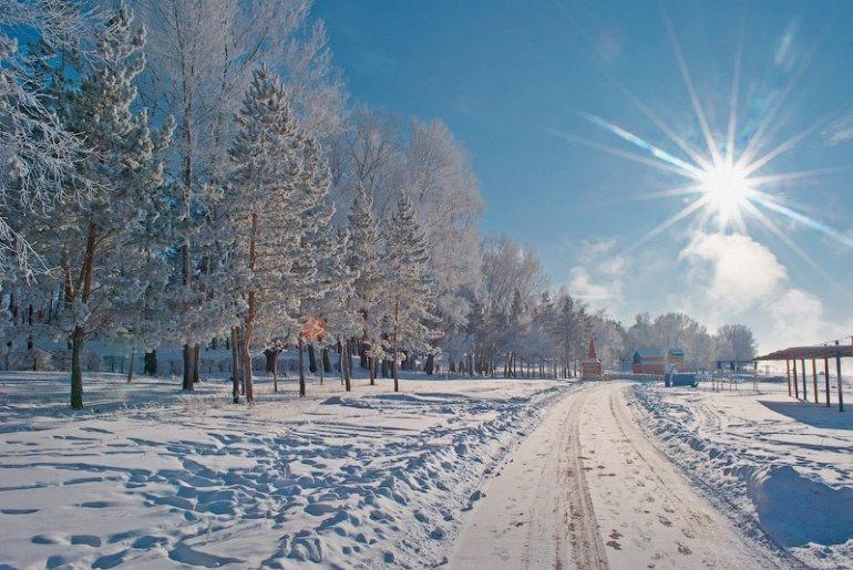 Погода на 7 декабря в Казахстане: мороз, туман и ветер
