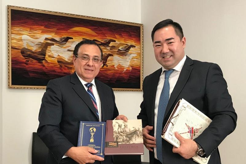 哈萨克斯坦-秘鲁政治磋商会议在阿斯塔纳举行