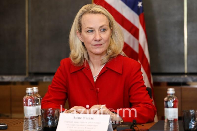 США высоко оценивает роль Нурсултана Назарбаева в урегулировании сирийского конфликта - Элис Уэллс