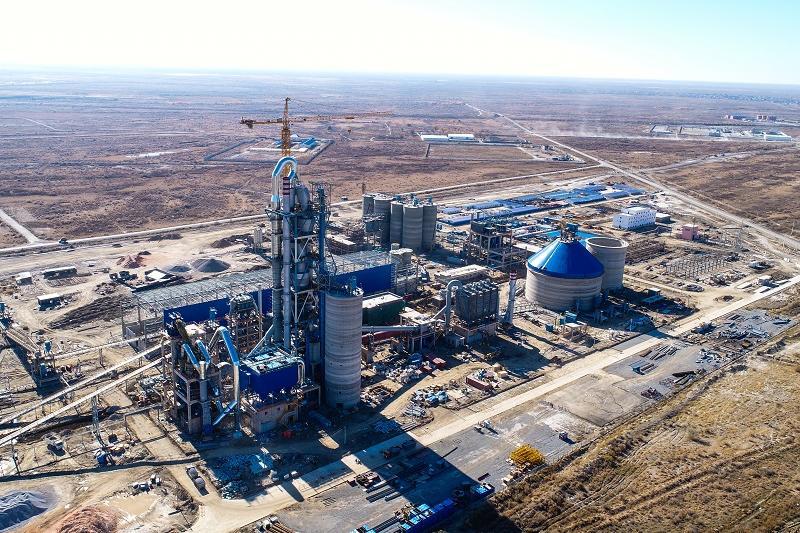 В Кызылординской области заработал завод по производству тампонажного цемента