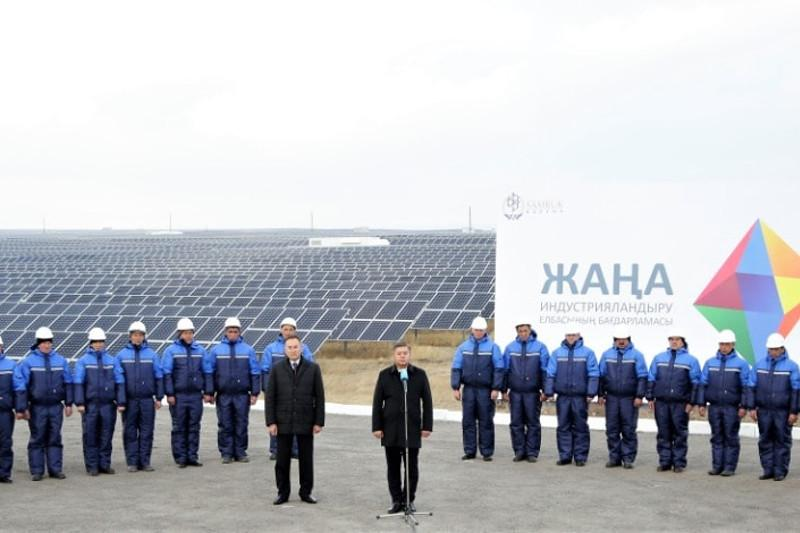 Biggest solar farm in CIS built in Kazakhstan