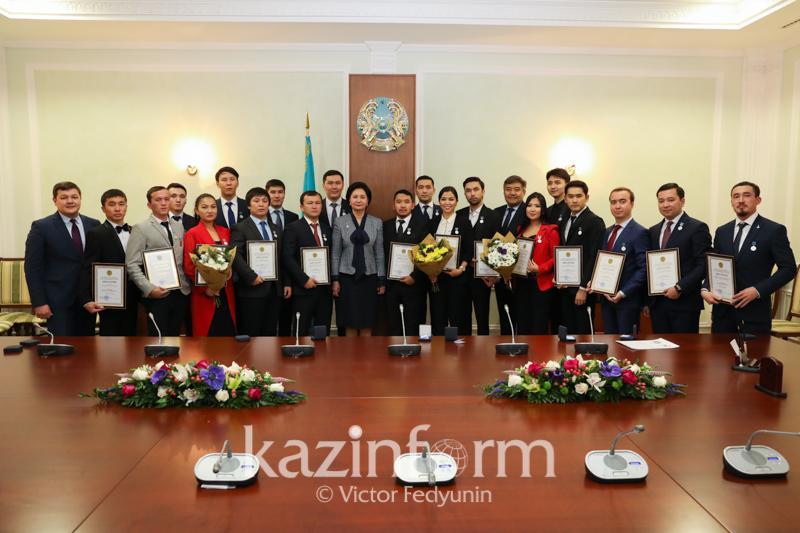 Астанада «Дарын» мемлекеттік жастар сыйлығы тапсырылды