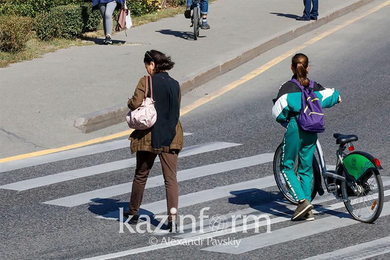 Алматы откажется от высоких бордюров