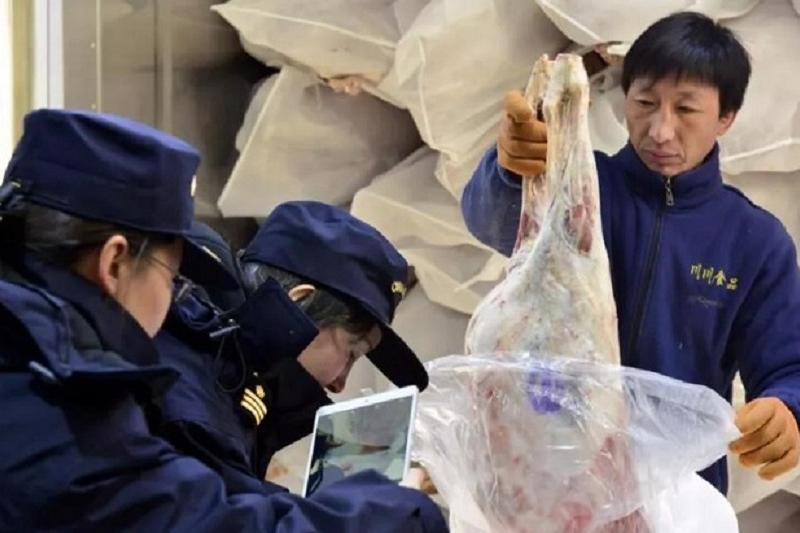 Первая партия казахстанской замороженной баранины экспортирована в Китай