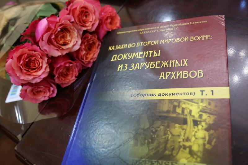 New book reveals documents on Kazakh soldiers in World War II