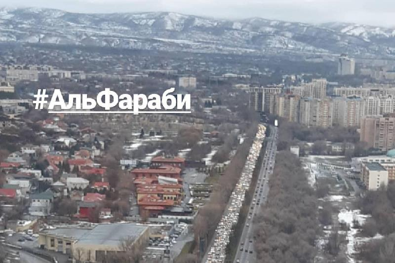 Об основной цели реконструкции проспекта аль-Фараби рассказали в акимате Алматы