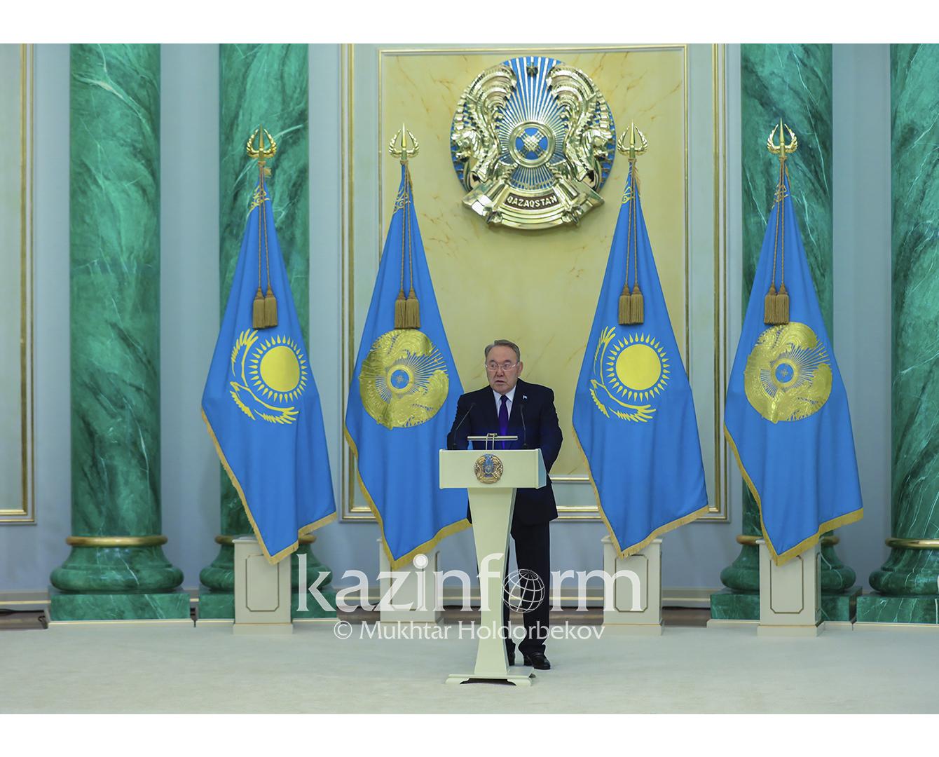 Нурсултан Назарбаев поздравил казахстанцев с предстоящим Днем Независимости РК