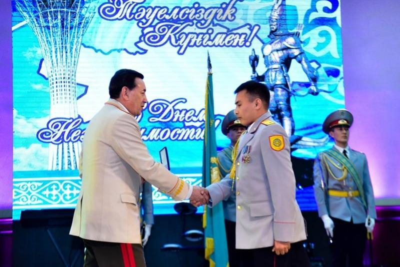 Kazakh law enforcement officers awarded orders and medals