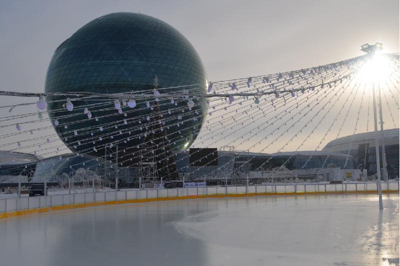 Ледовый каток ЭКСПО открывает новый сезон
