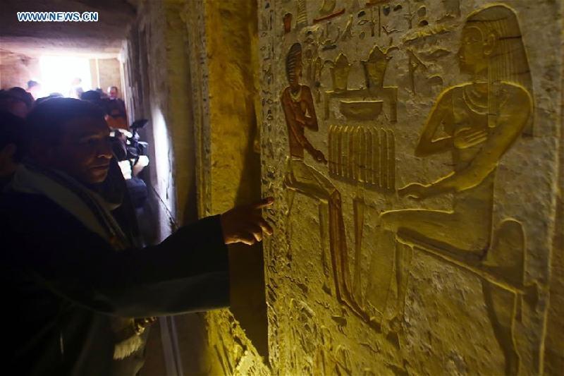 埃及发现距今4400年王室祭司墓葬