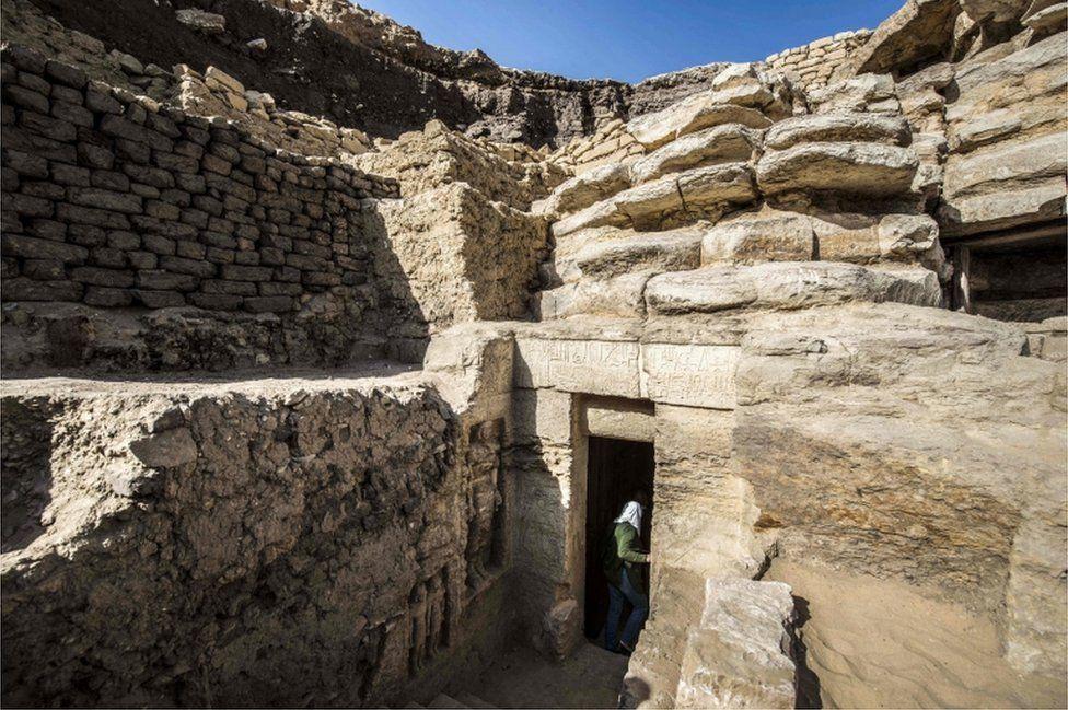 Mysyrda 4400 jyl boıy ashylmaǵan kóne mazar tabyldy