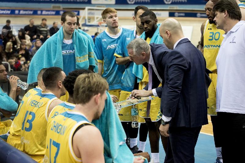 Баскетбольная «Астана» победила «Алматы» во втором матче