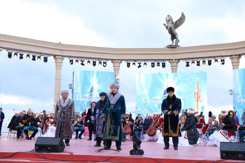 Square of myths unveiled in Aktau