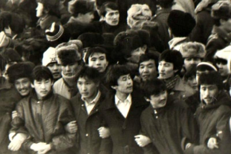 Kazakh youth rallied in Almaty 32 years ago