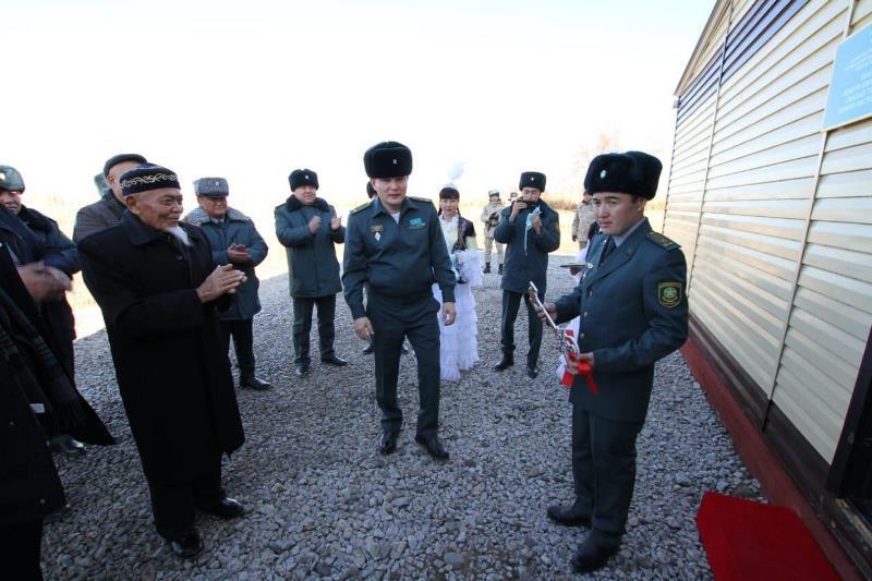 Қазақ-қырғыз шекарасында екі застава ашылды