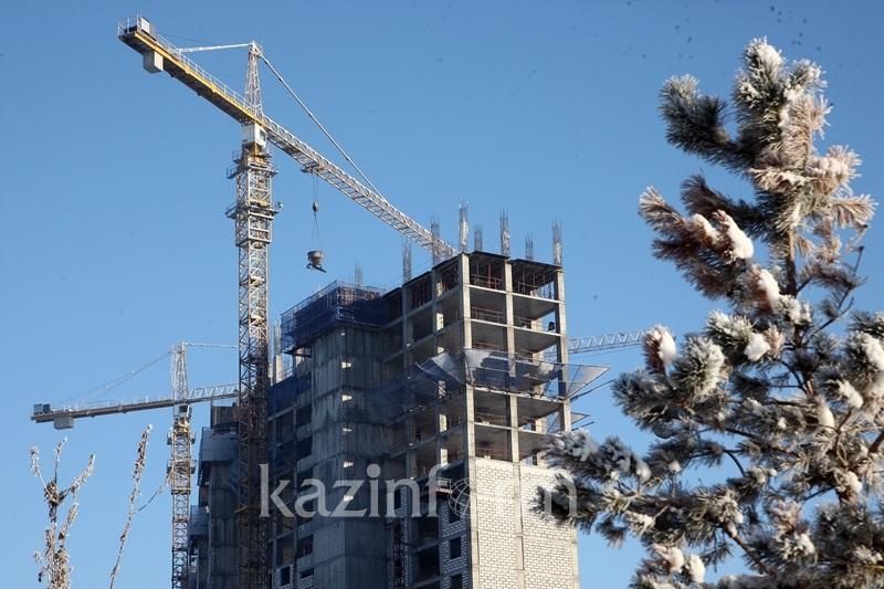 Объем строительных работ в Казахстане увеличился на 3,9%