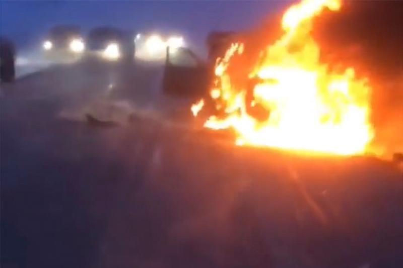 Рудный күре жолындағы апаттан үш адам қаза тапты