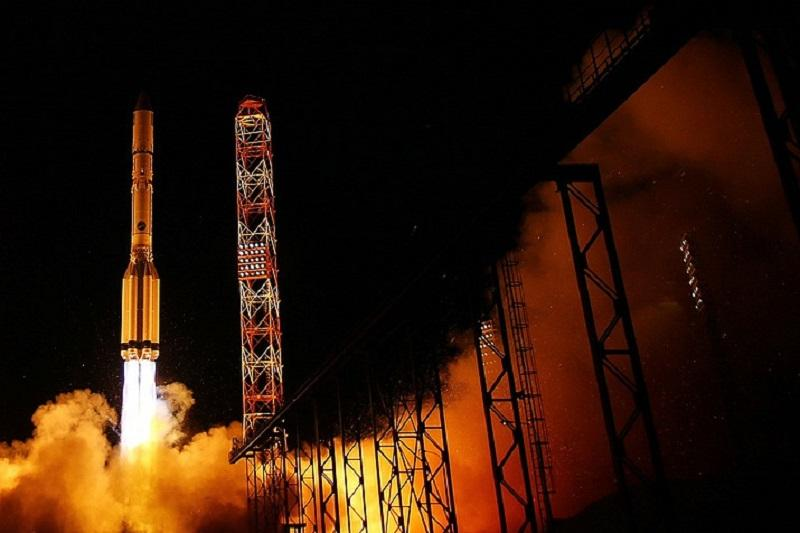 Russia's Proton-M rocket with defense satellite launched from Baikonur