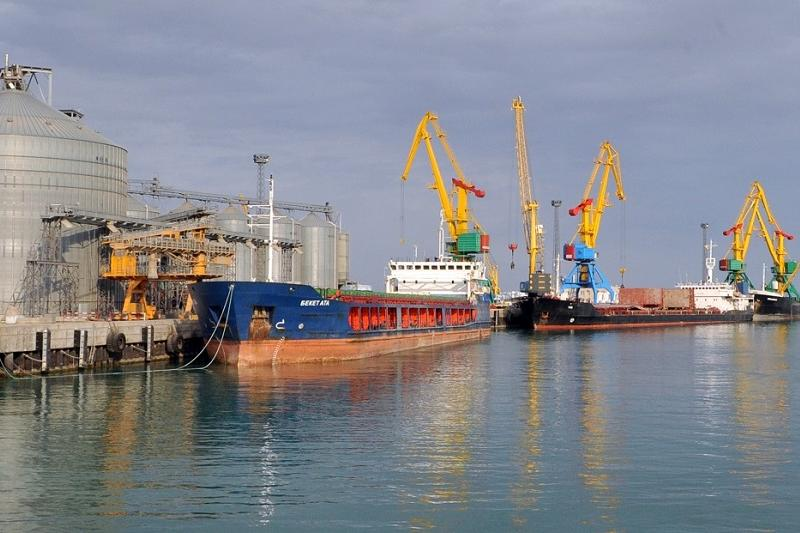 Aktau Sea Port free trade zone output hit KZT 283 bln