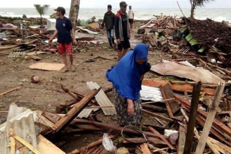 外交部:没有哈萨克斯坦公民在印尼海啸中伤亡