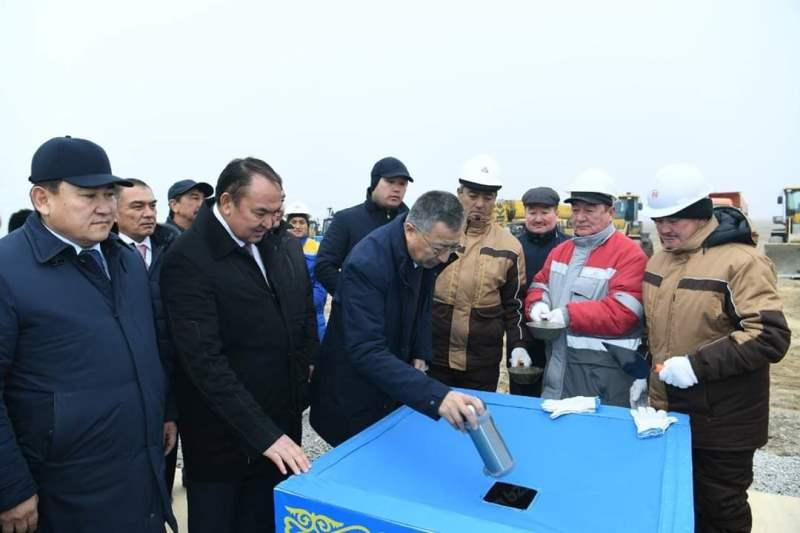Construction of 88 residential buildings commences in Turkestan