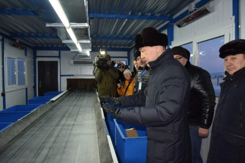 Waste sorting plant put into operation in Kostanay