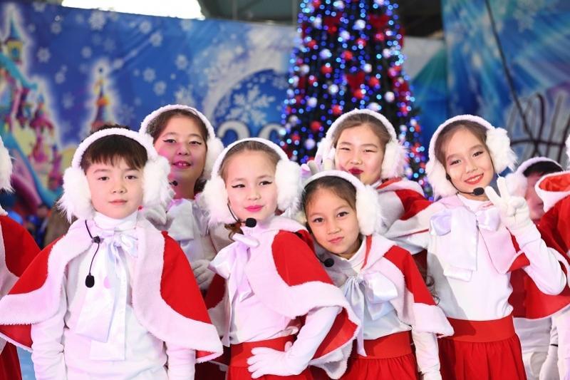 Настоящую сказку подарили детям Алматинской облати в канун Нового года