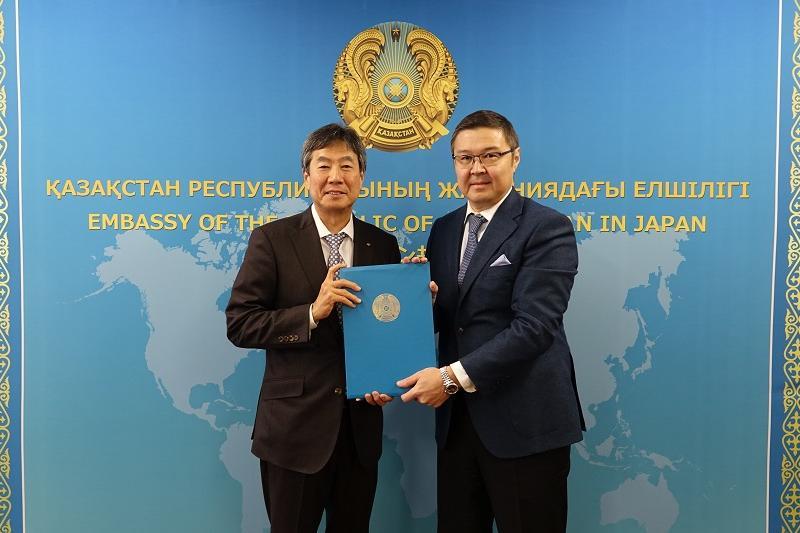 Представитель Marubeni стал Почетным консулом Казахстана в Осаке