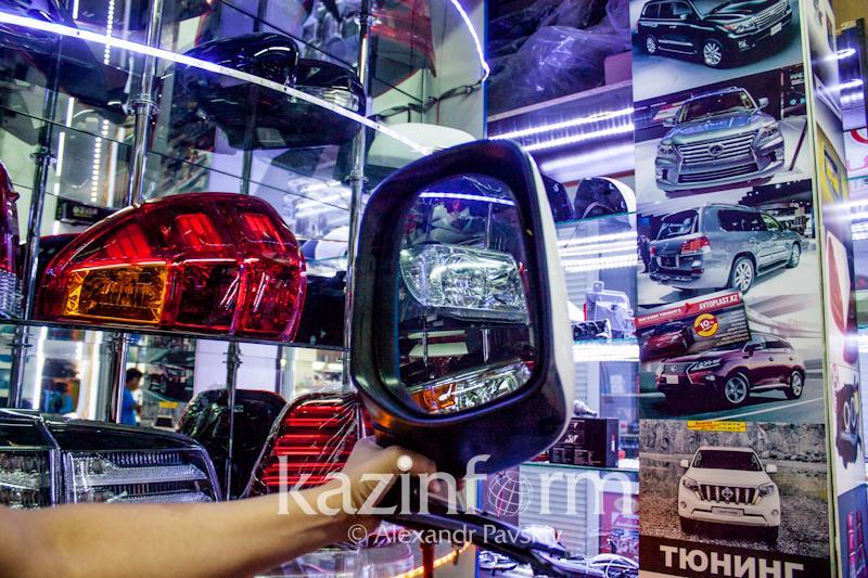 今年共有344人因盗窃汽车后视镜在阿拉木图被捕