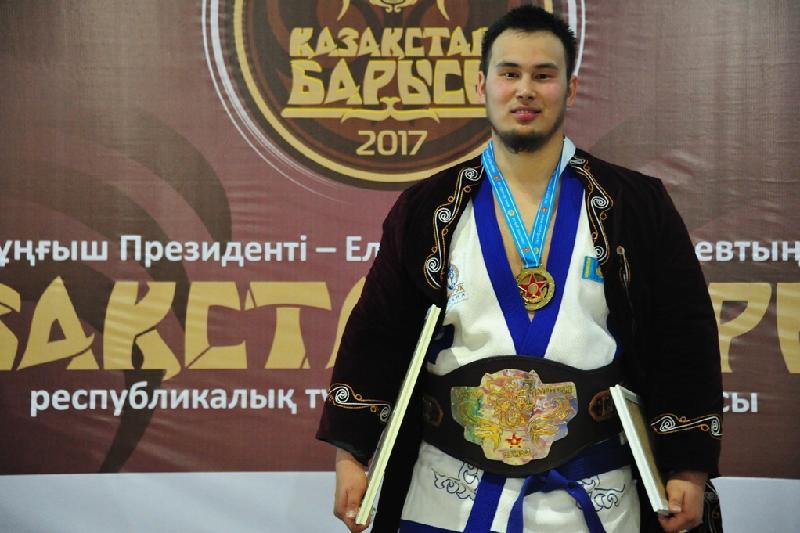 Подозреваемый в допинге Еламан Ергалиев не будет лишен звания «Қазақстан барысы 2017»