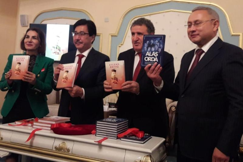 'Alash Arystary' book presented in Azerbaijan