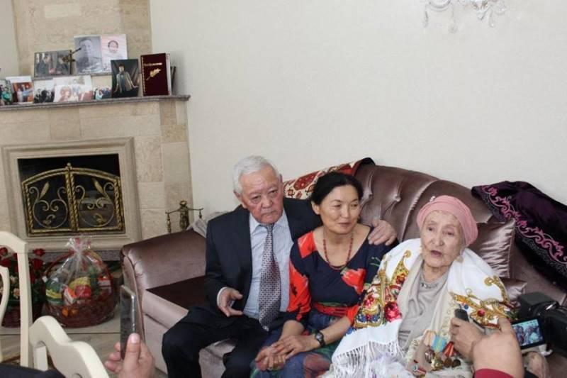 Первая Дездемона Казахстана отмечает свое 102-летие