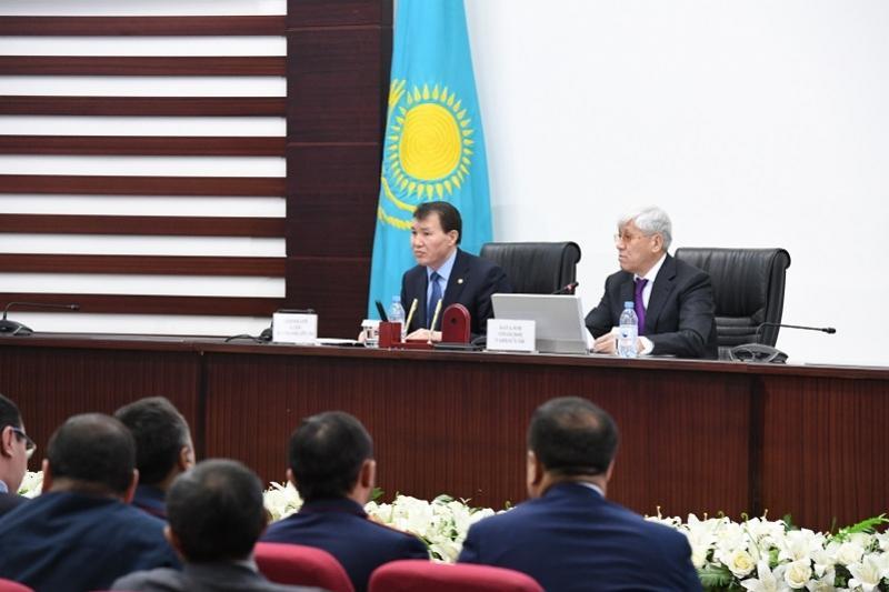 Как можно победить коррупцию, сообщил Алик Шпекбаев жителям Алматинской области