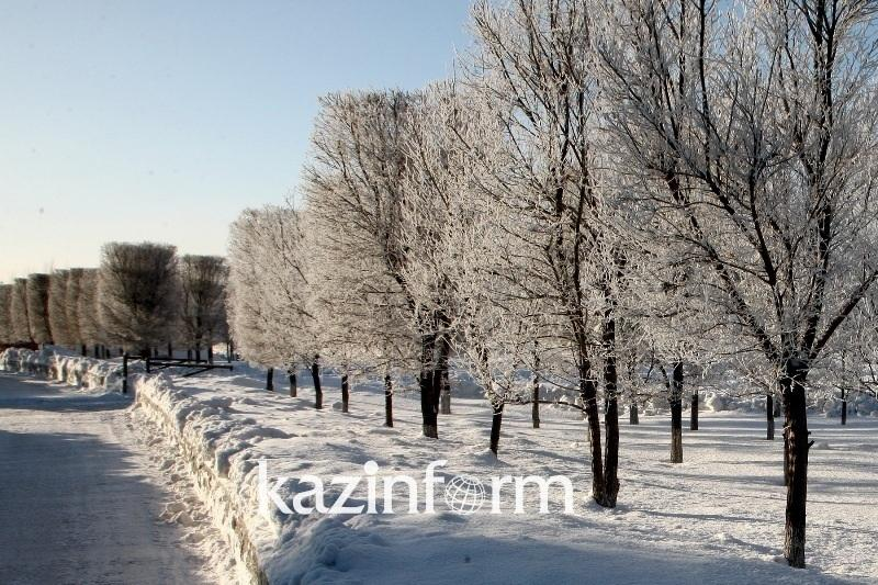 -40º frost to grip E Kazakhstan on New Year holidays