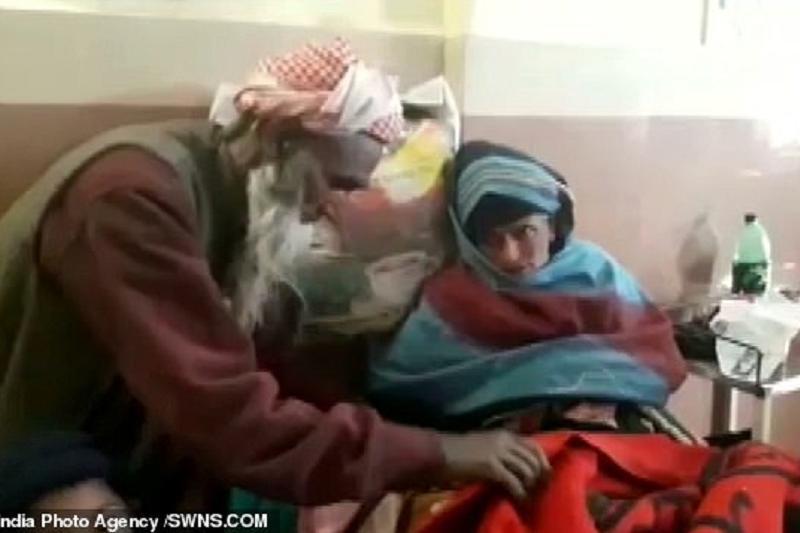 印度65岁老太生子 丈夫已80岁高龄