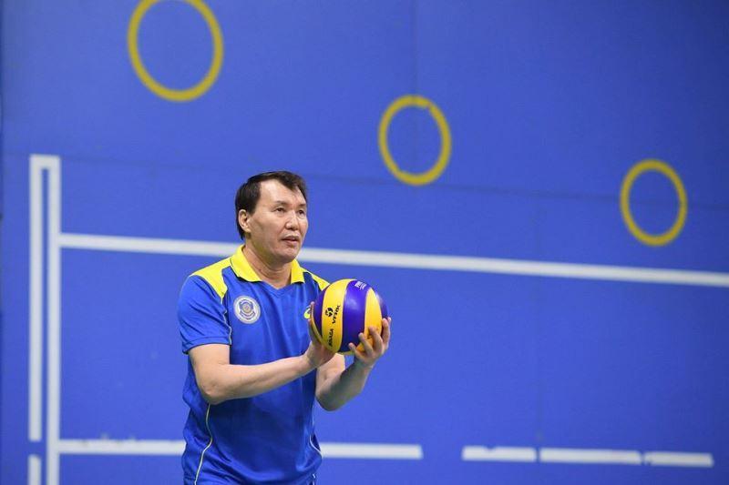 Алик Шпекбаев признан «Лучшим нападающим» волейбольного турнира