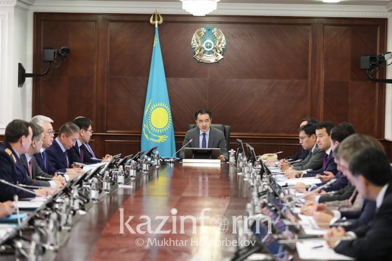 Бақытжан Сағынтаев облыс әкімдеріне: Қаншама зауыт аштыңыздар - нәтиже қайда