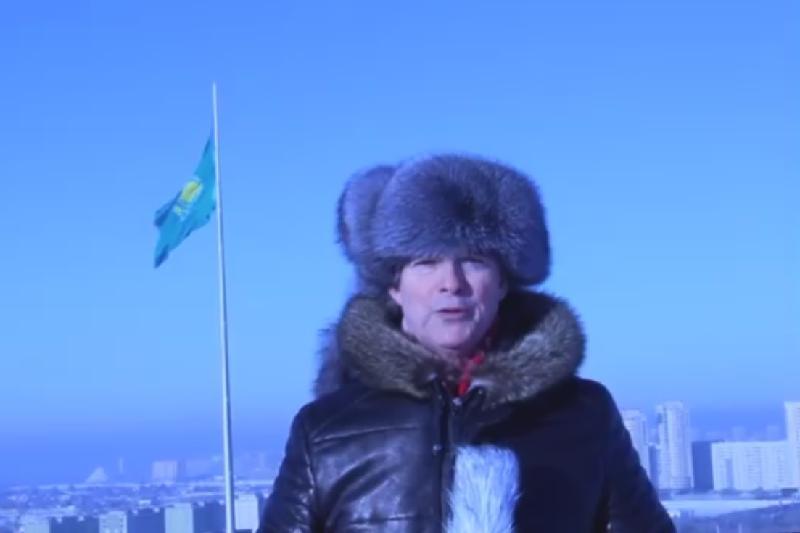 Посол Франции в РК подвел итоги года на казахском языке
