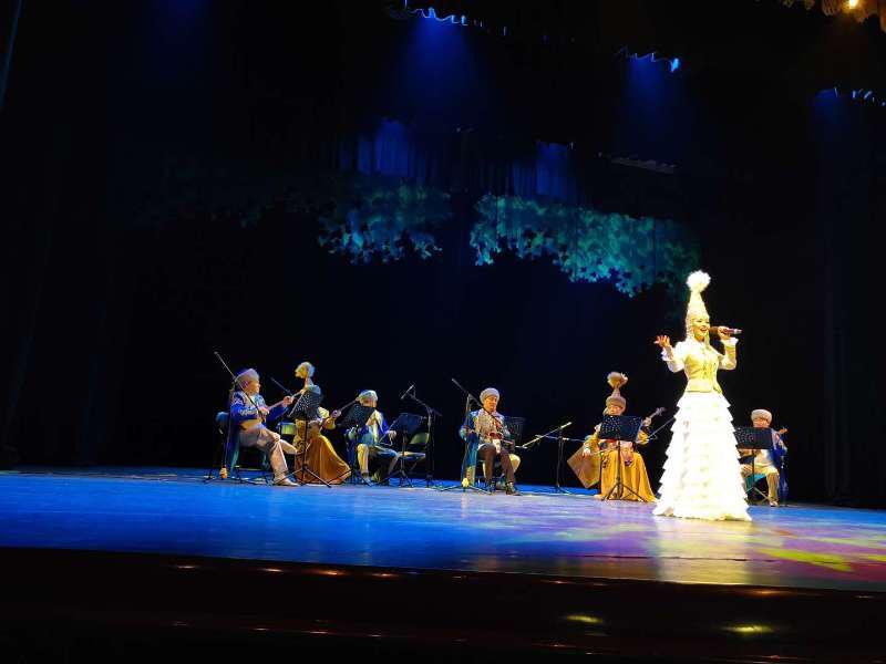 Концерт в честь 20-летия Астаны прошел в СУАР КНР