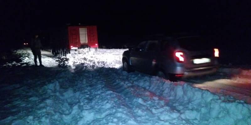 55人因风雪天气被困阿拉木图州高速公路