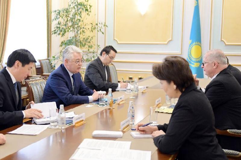 Kazakh-German coop discussed in Astana