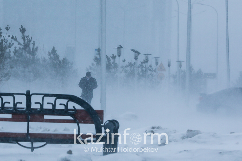Snowstorm to sweep across W Kazakhstan