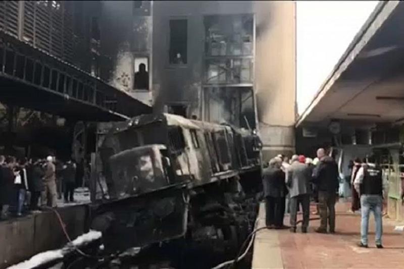 外交部:埃及开罗火车站大火中无哈萨克斯坦公民伤亡
